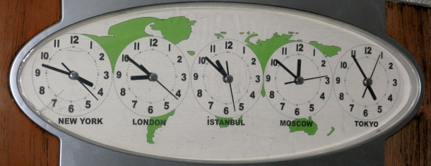 Time-across-the-globe