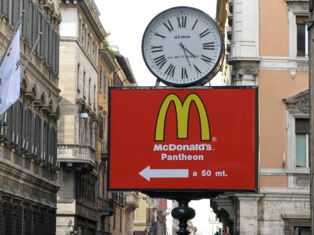 McDonald's-in-Rome