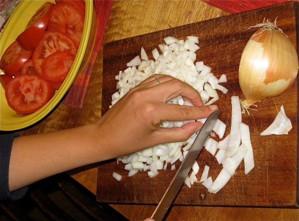 onions-being-chopped