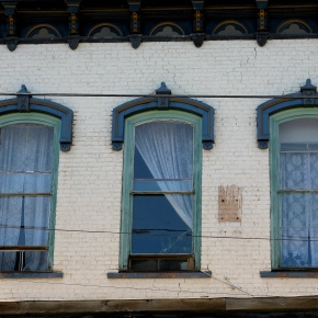 What's behind window numberthree?